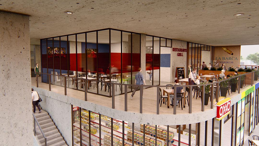 segundo nivel-plaza comercial arena fundidora-01